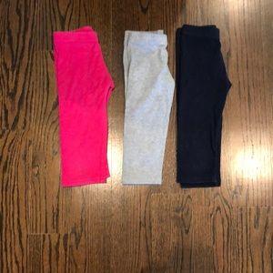 Assorted girls Dori leggings cropped